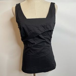 Liviana Conti black Top blouse 44 Us8 stretch
